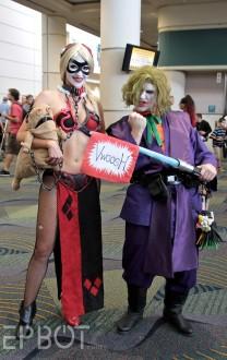 Harley Quinn Leia Cosplay 5
