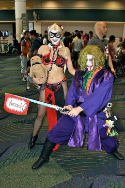 Harley Quinn Leia Cosplay 6