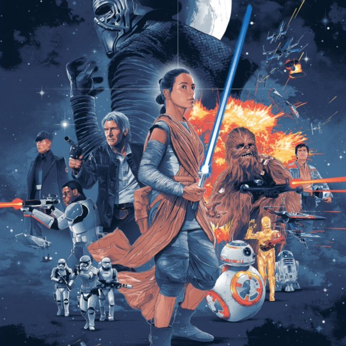 New Officially Licensed 'The Force Awakens' Poster