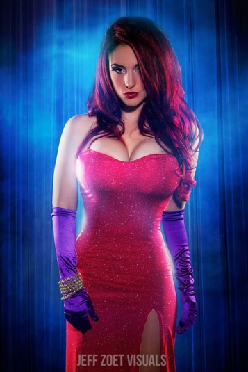 Jessica Rabbit Cosplay 17