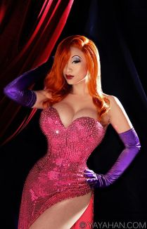 Jessica Rabbit Cosplay 2