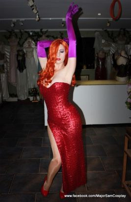 Jessica Rabbit Cosplay 35