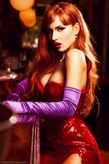 Jessica Rabbit Cosplay 4