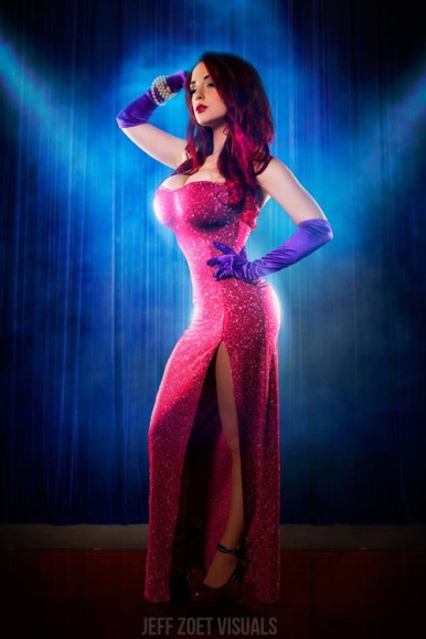 Jessica Rabbit Cosplay 48