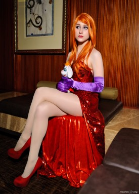 Jessica Rabbit Cosplay 6