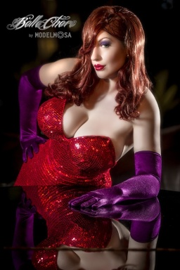Jessica Rabbit Cosplay 7