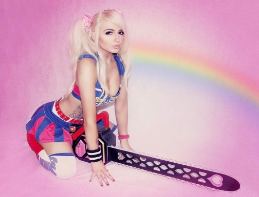 Lollipop Chainsaw Cosplay by Kay Victoria