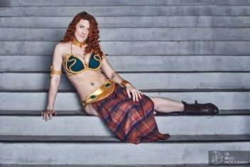 Merida Leia Cosplay 2