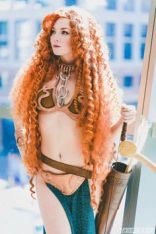 Merida Leia Cosplay 3