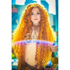 Merida Leia Cosplay 4