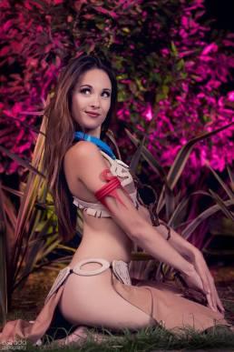 Pocahontas Leia Cosplay 1