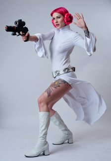 Princess Leia Cosplay 28