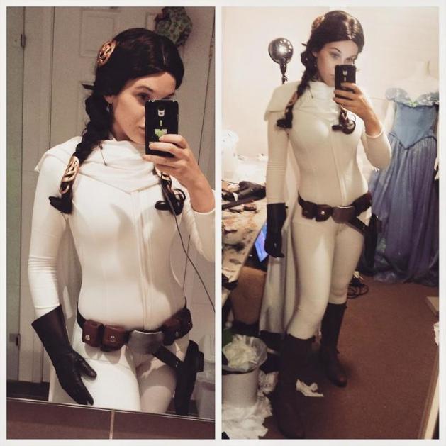 Princess Leia Cosplay 8