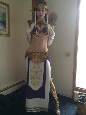 Princess Zelda Leia Cosplay 11