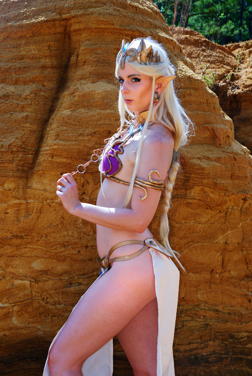 Princess Zelda Leia Cosplay 15