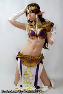 Princess Zelda Leia Cosplay 5