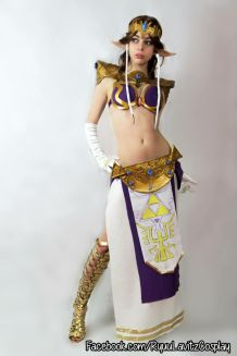 Princess Zelda Leia Cosplay 6