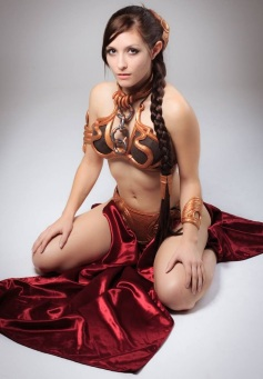 Slave Leia Cosplay 16