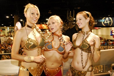 Slave Leia Cosplay 2