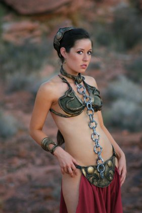 Slave Leia Cosplay 28