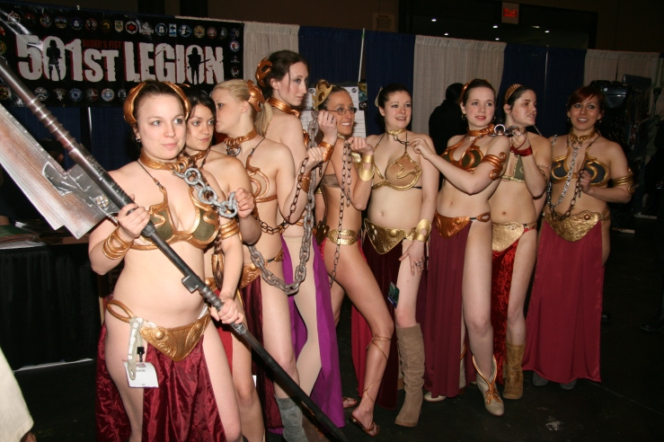 Slave Leia Cosplay 46