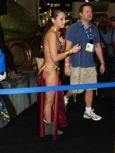 Slave Leia Cosplay 53