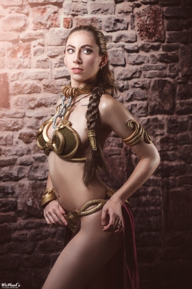 Slave Leia Cosplay 60