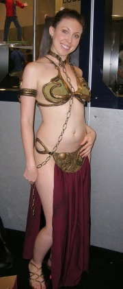 Slave Leia Cosplay 63