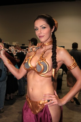 Slave Leia Cosplay 7