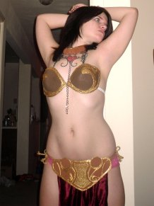Slave Leia Cosplay 78