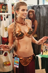 Slave Leia Cosplay 83