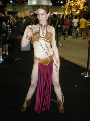 Slave Leia Cosplay 90