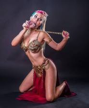 Slave Leia Cosplay108