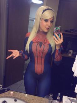 Spider-Gwen Cosplay 7