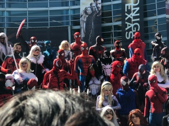 Spider-Man does WonderCon 2017 1