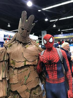 Spider-Man does WonderCon 2017 15