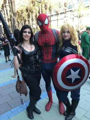 Spider-Man does WonderCon 2017 16