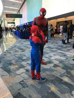 Spider-Man does WonderCon 2017 17