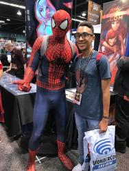 Spider-Man does WonderCon 2017 3