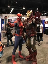 Spider-Man does WonderCon 2017 5
