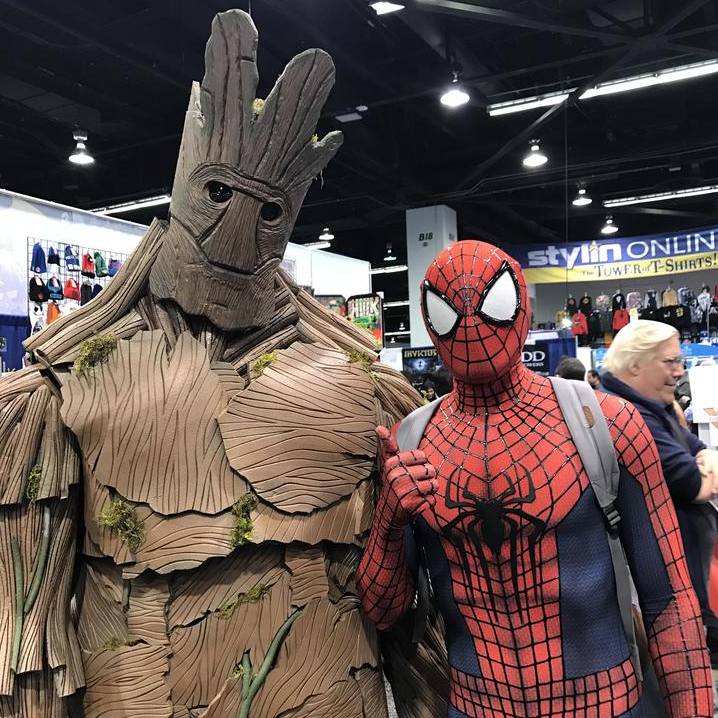 Spider-Man does WonderCon 2017