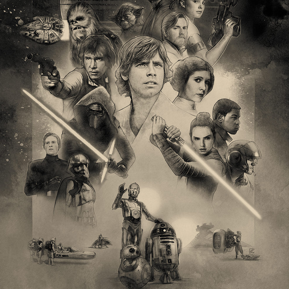 Star Wars Celebration (#SWCO) 2017 Posters and Badge Art