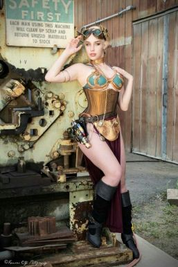 Steampunk Leia Cosplay 10