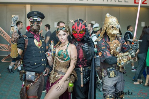 Steampunk Leia Cosplay 11