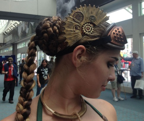 Steampunk Leia Cosplay 14
