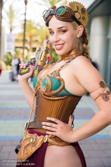 Steampunk Leia Cosplay 5