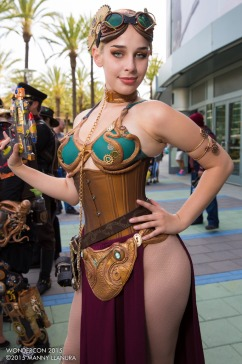 Steampunk Leia Cosplay 7