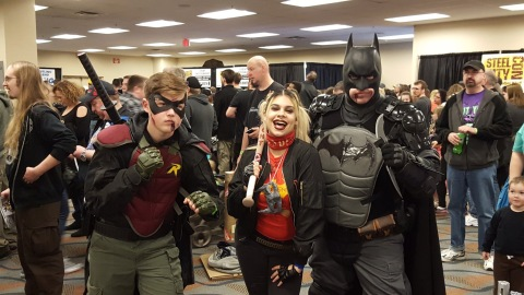 Steel City Con 2017 - Batman | Robin | Harley Quinn