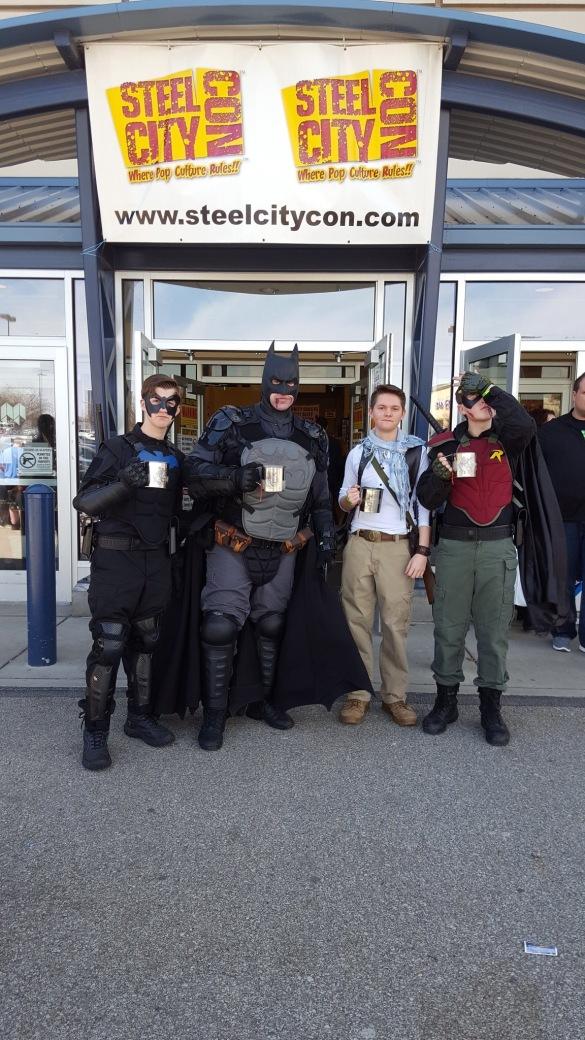 Steel City Con 2017 - Batman | Robin | Nightwing