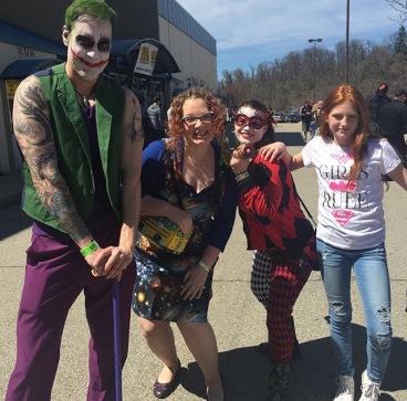 Steel City Con 2017 - Joker | Harley Quinn